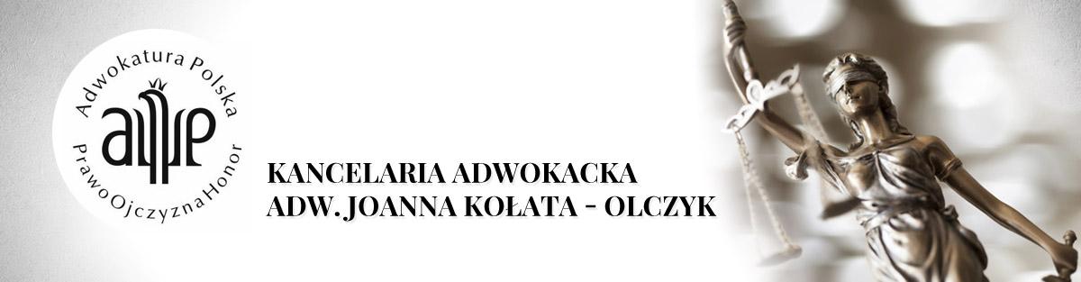 Kancelaria Adwokacka Joanny Kołaty – Olczyk